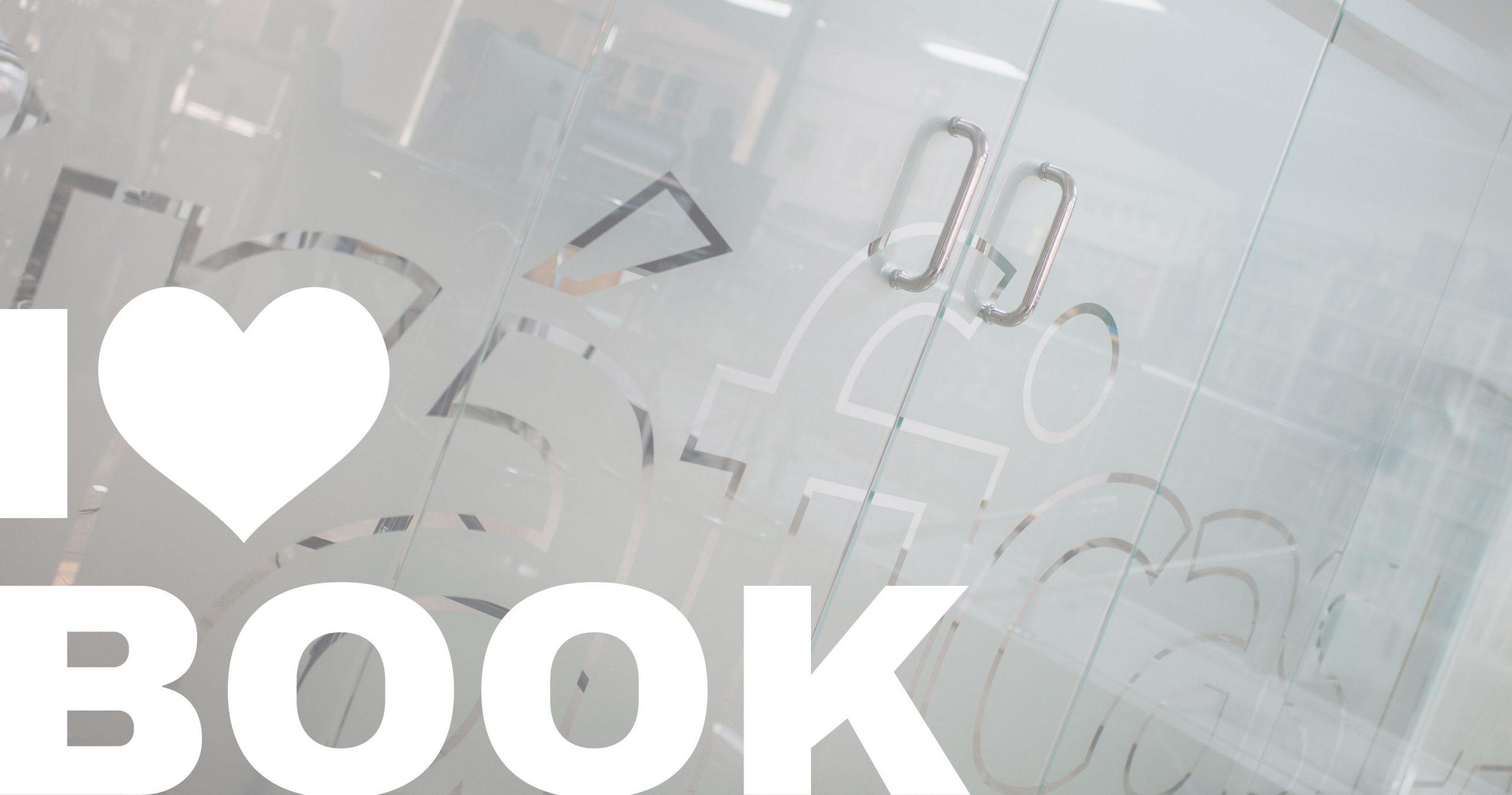 Imprenta impresión libros online I Love Book logotipo