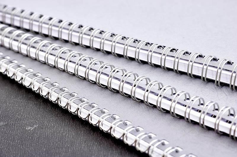 Encuadernación en espiral wire-o imprenta impresión de libros online